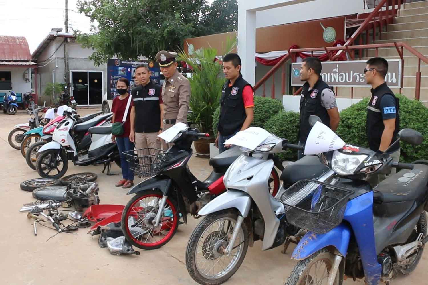 Boy, 14, caught delivering stolen motorcycle