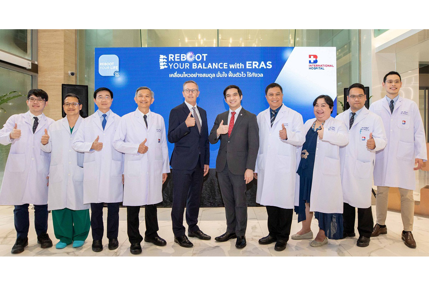 "Bangkok International Hospital offers minimally invasive spine surgeries under the concept ""ERAS: Enhanced Recovery After Surgery"""