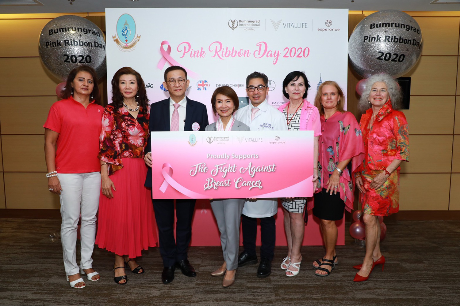 PINK RIBBON DAY: In recognition of October as an International Breast Cancer Awareness month