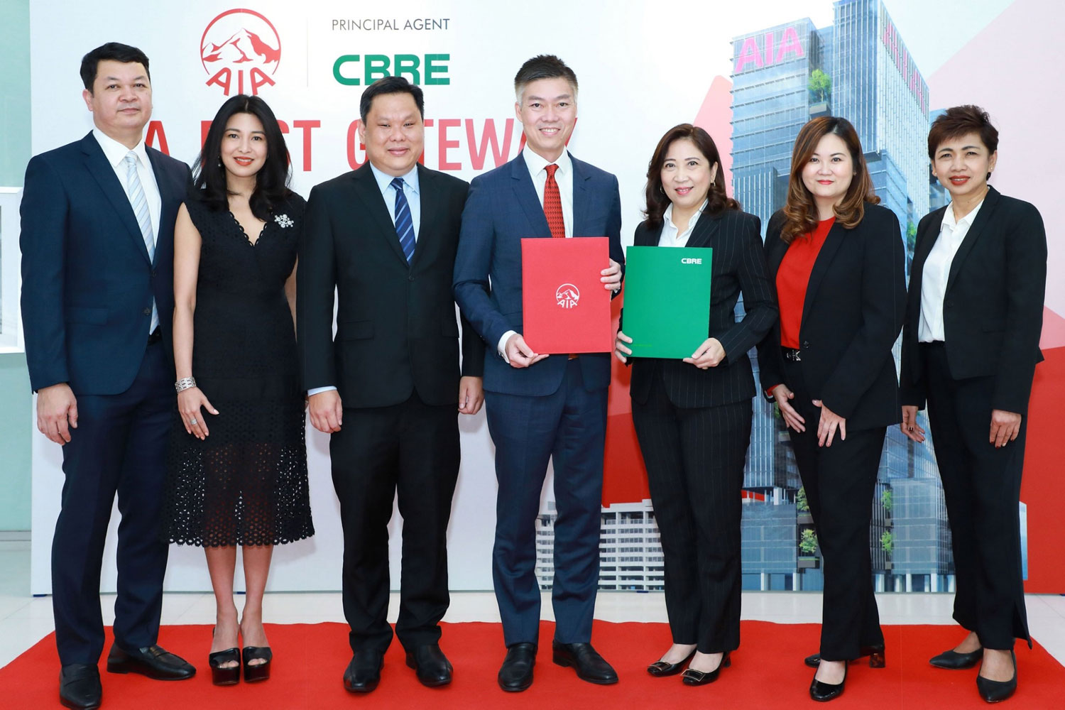 "AIA Thailand appoints CBRE as Principal Agent for ""AIA EAST GATEWAY"""