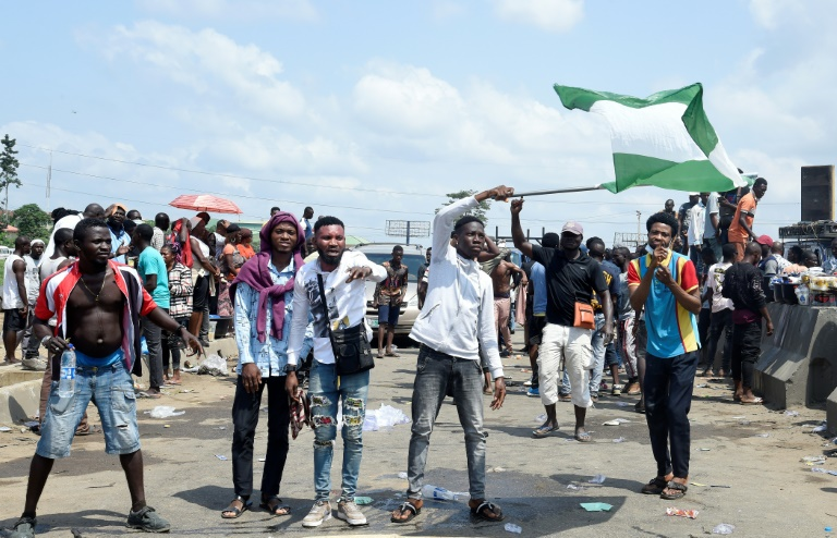At least 56 people have died across Nigeria since protests began on October 8, with about 38 killed on Tuesday alone, according to Amnesty International.