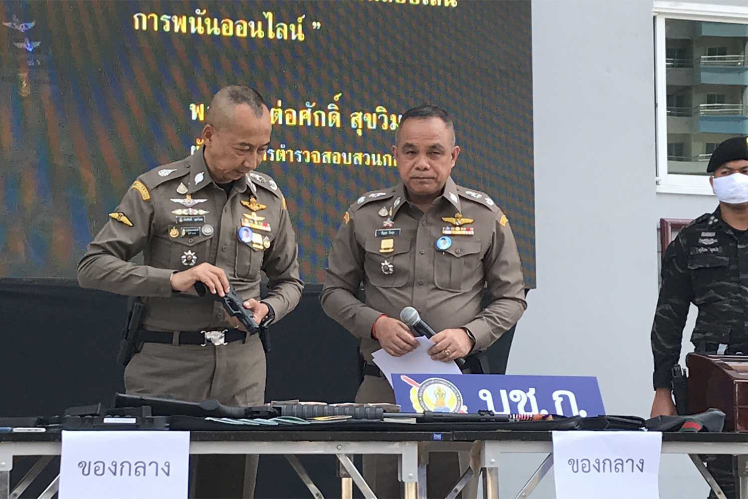Six held in major online gambling bust
