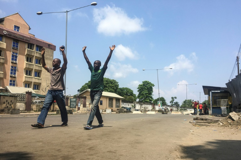 Police patrol Nigeria's Lagos after days of unrest