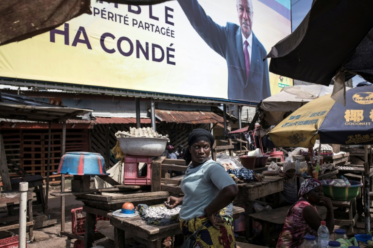 Guinea's Conde set for controversial third term