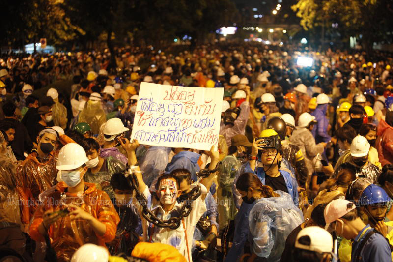Most people worried by ongoing protests: poll