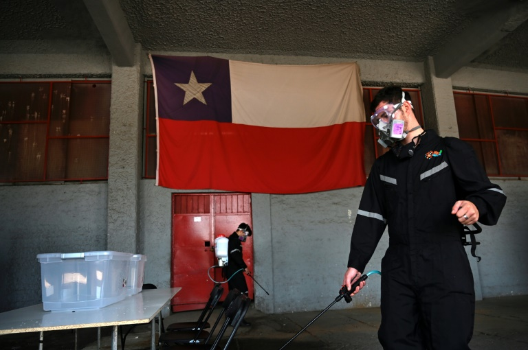 From protest to ballot box, Chile votes in referendum for change