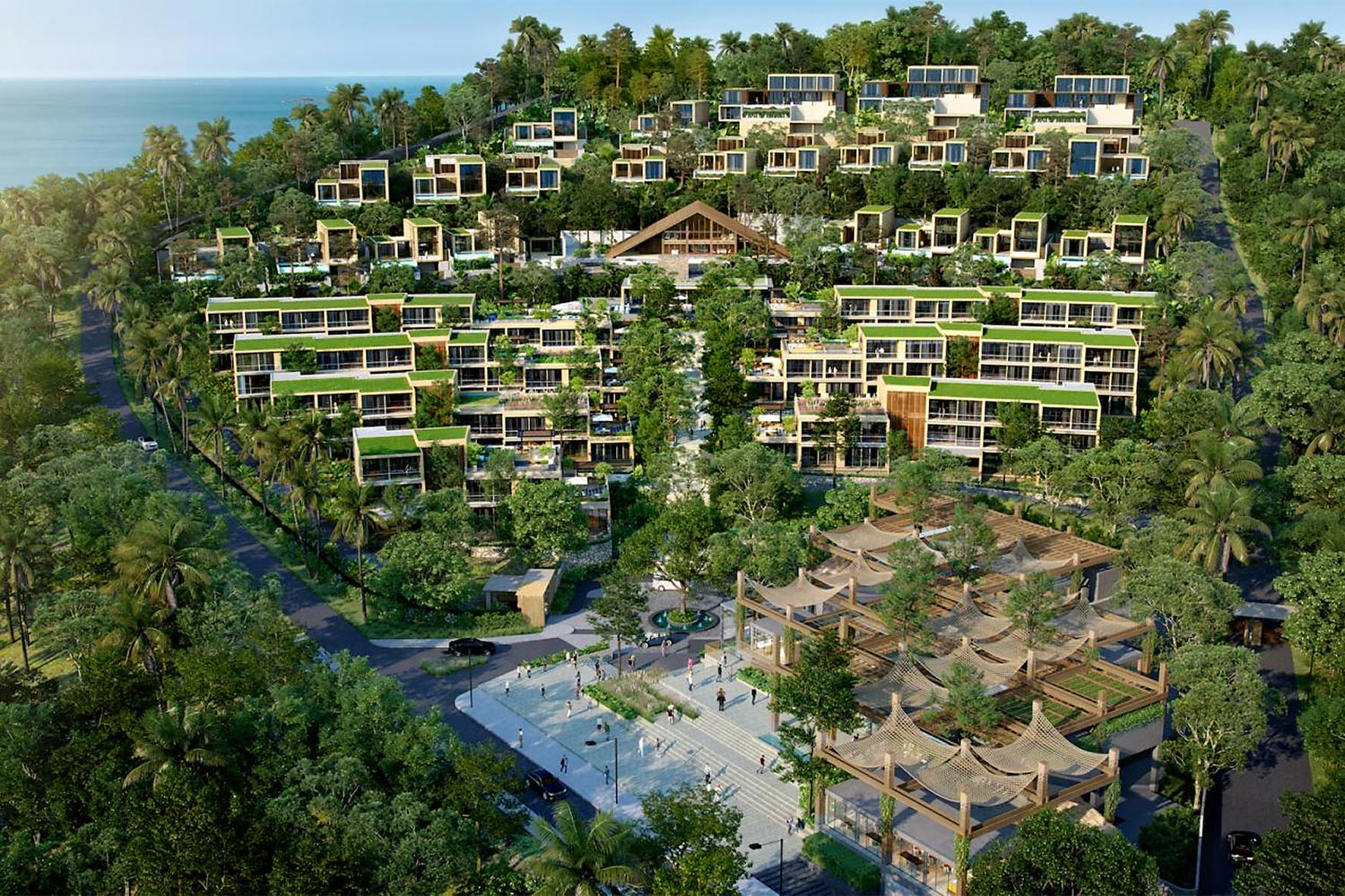 Aquarius Residences and Resort Koh Chang, AQI's flagship project, is scheduled to open in three phases starting in 2022.