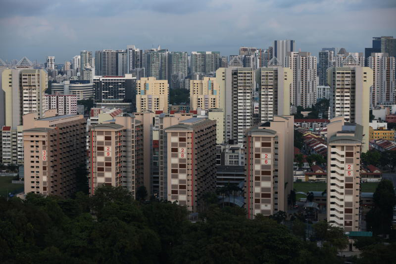A public housing estate on the outskirts of Kampong Glam in Singapore. (Photo: Reuters)
