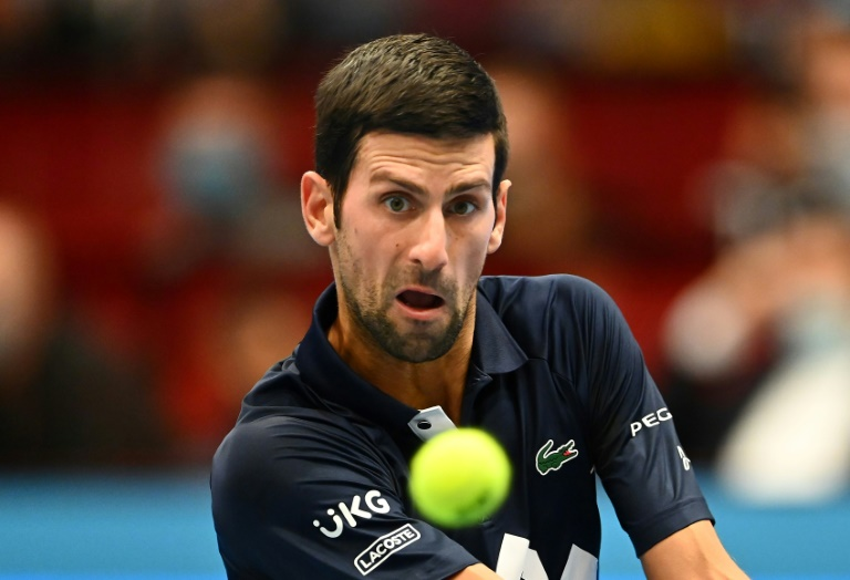 Novak Djokovic needs one win to ensure he finishes the year as world number one for the sixth time.