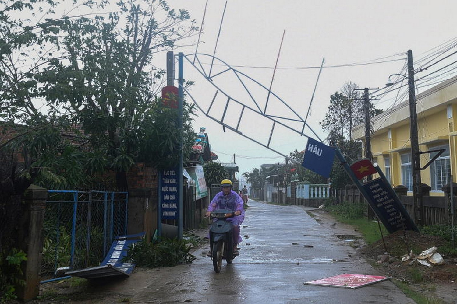 13 killed, dozens missing as typhoon lashes Vietnam