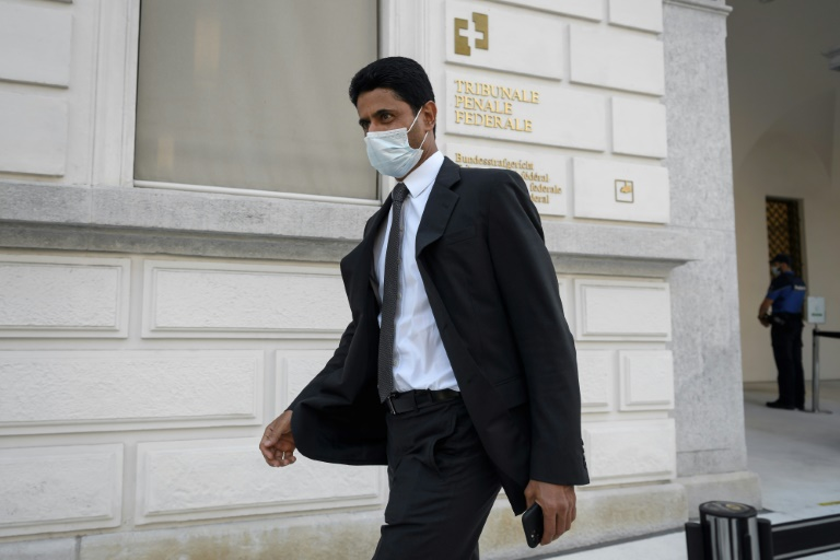 Paris Saint-Germain chief Nasser Al-Khelaifi was cleared of corruption by the Swiss Federal Criminal Court