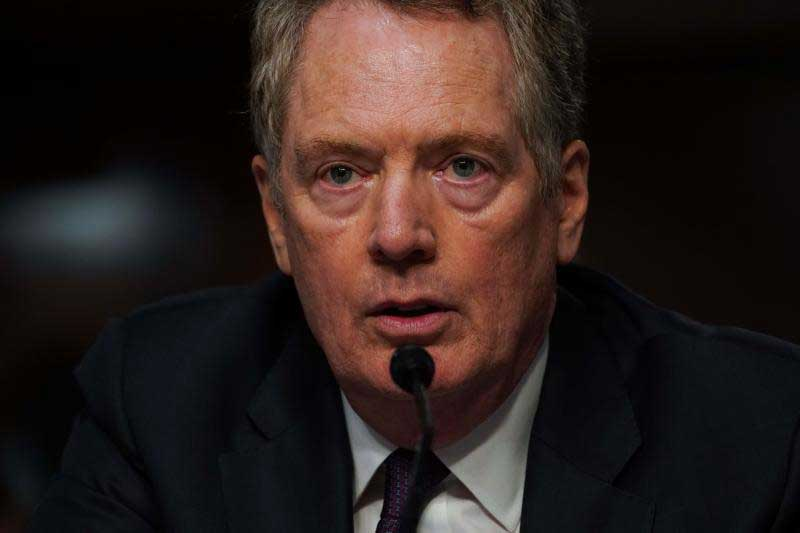 US Trade Representative Robert Lighthizer says Washington will eliminate some tariff benefits for Thailand. (AFP file photo)