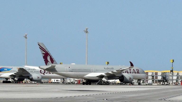 Footage of baby abandoned at Qatar's worldwide airport