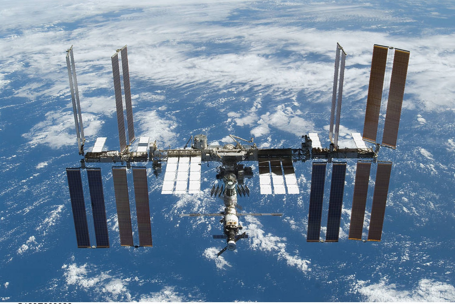 International space station in orbit of the Earth.  (Photo: NASA)