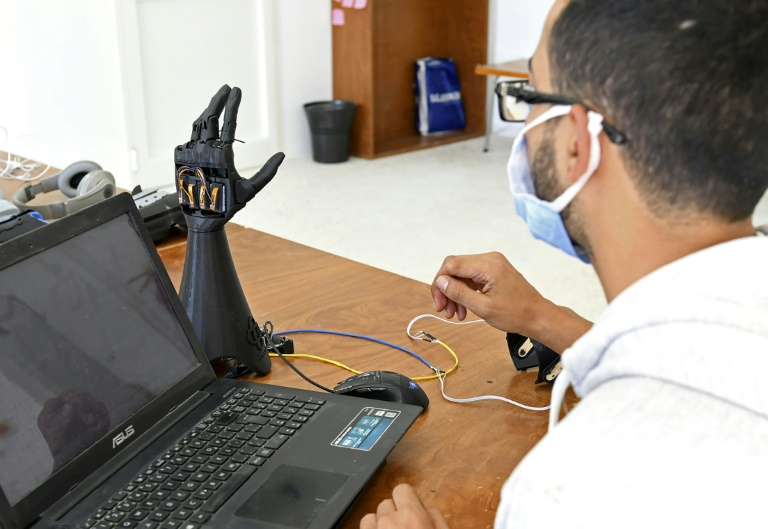 Tunisian startup Cure Bionics are developing a prototype of an artificial hand, which they hope will be more affordable to help amputees and other disabled people.