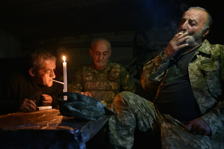 Azerbaijani forces advance in Karabakh
