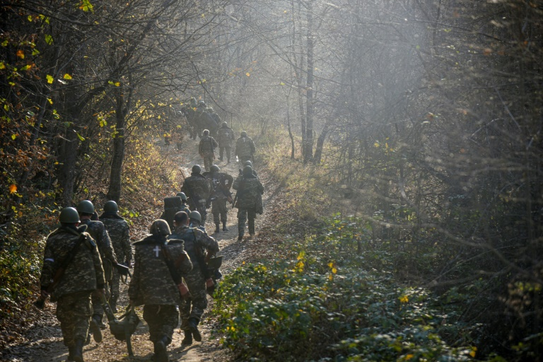 Fighting in Nagorno-Karabakh has focused on the area around Shusha in recent days