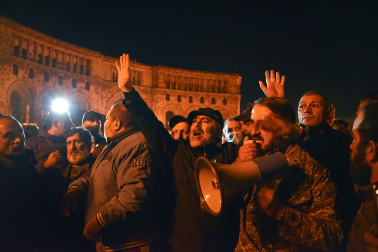 Armenian PM Says He Signed Deal to End Nagorno-Karabakh War