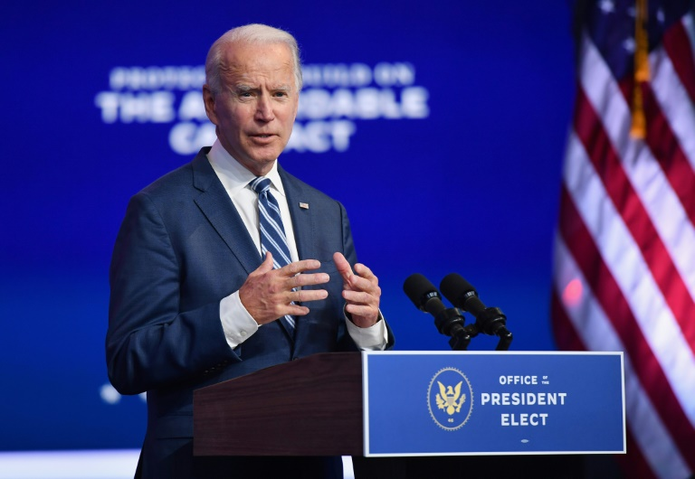 US President-elect Joe Biden has flipped five states from President Donald Trump's column.(AFP Photo)