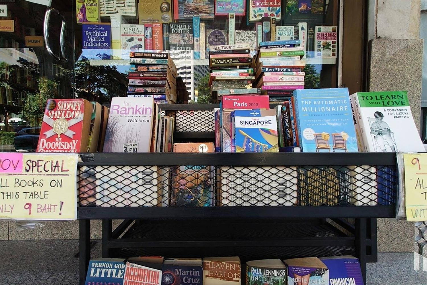 Blowout for bibliophiles at Dasa Book Cafe