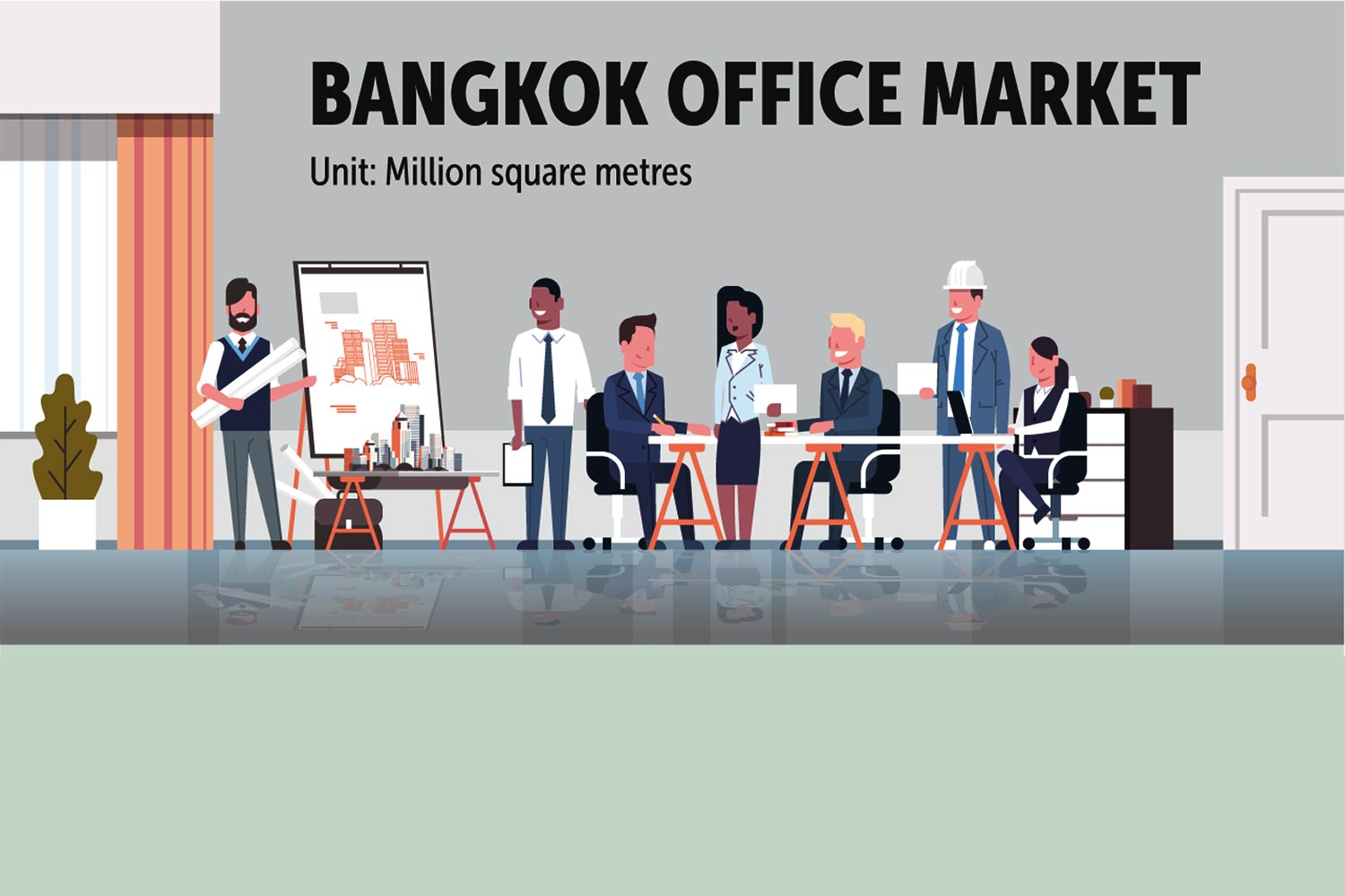 Occupancy rate in Bangkok CBD dips in Q3