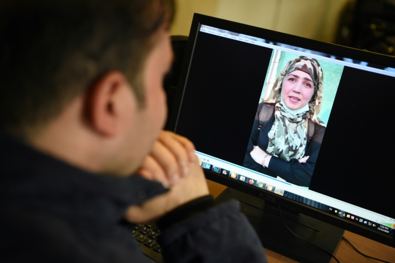 Muzghan (pictured in this confession video) and her aunt Nasreen walked free from jail in September after confessing to being members of the Taliban's ultra-violent Haqqani network.