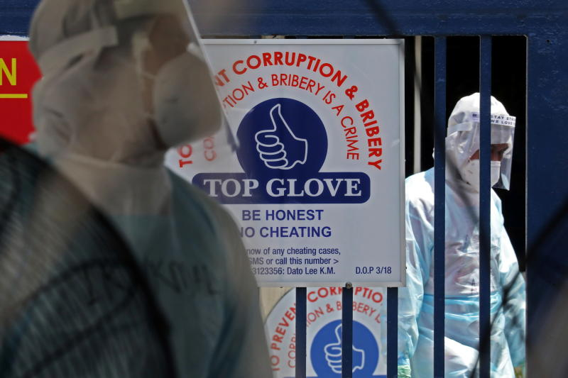 Malaysia's Top Glove shares tumble as govt orders factories shut