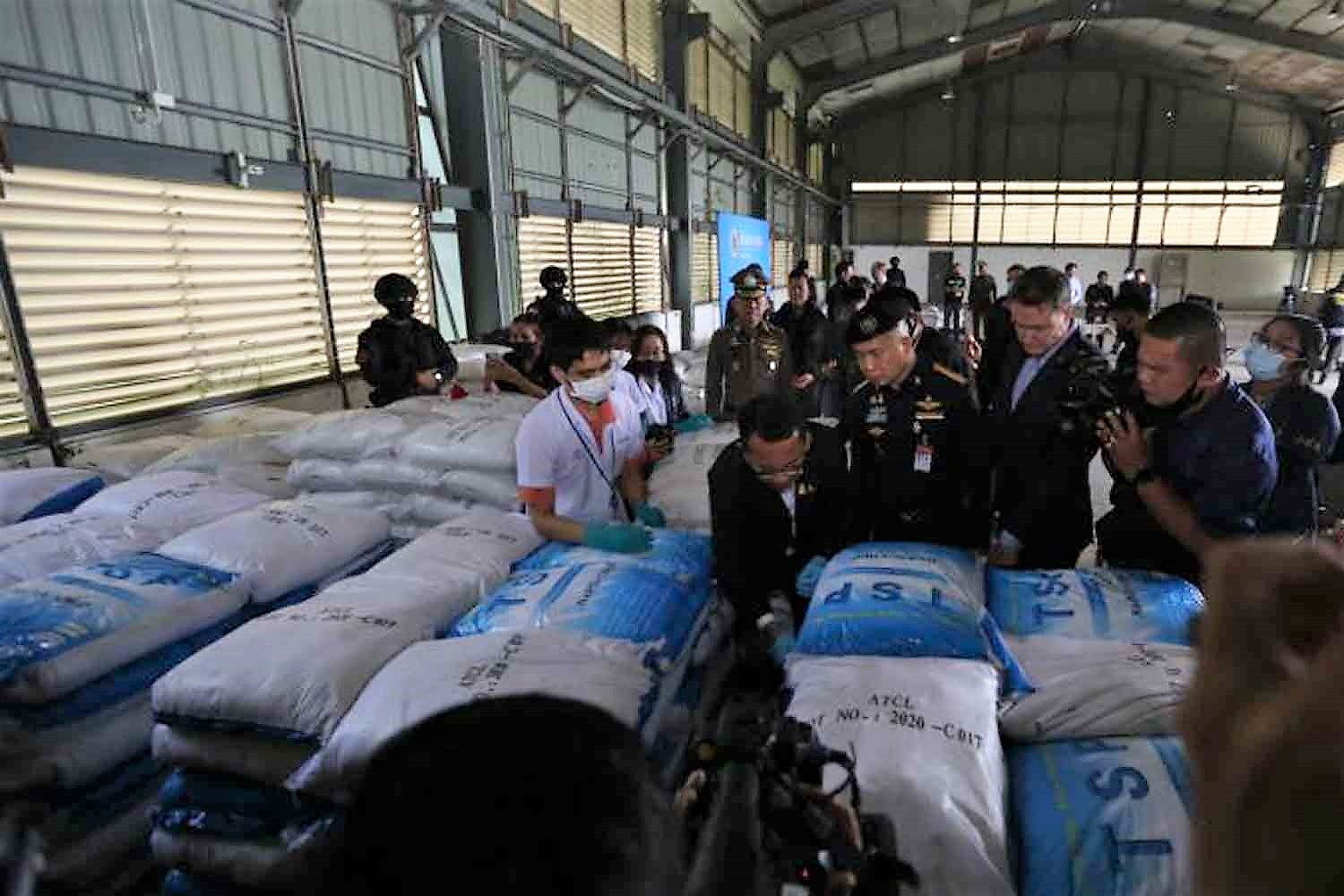 Thailand's giant drug bust claim turns out to be false