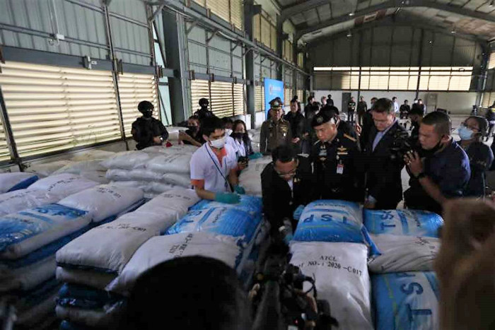 Thailand's largest $1bn ketamine bust turns out to be a food additive - Tatahfonewsarena