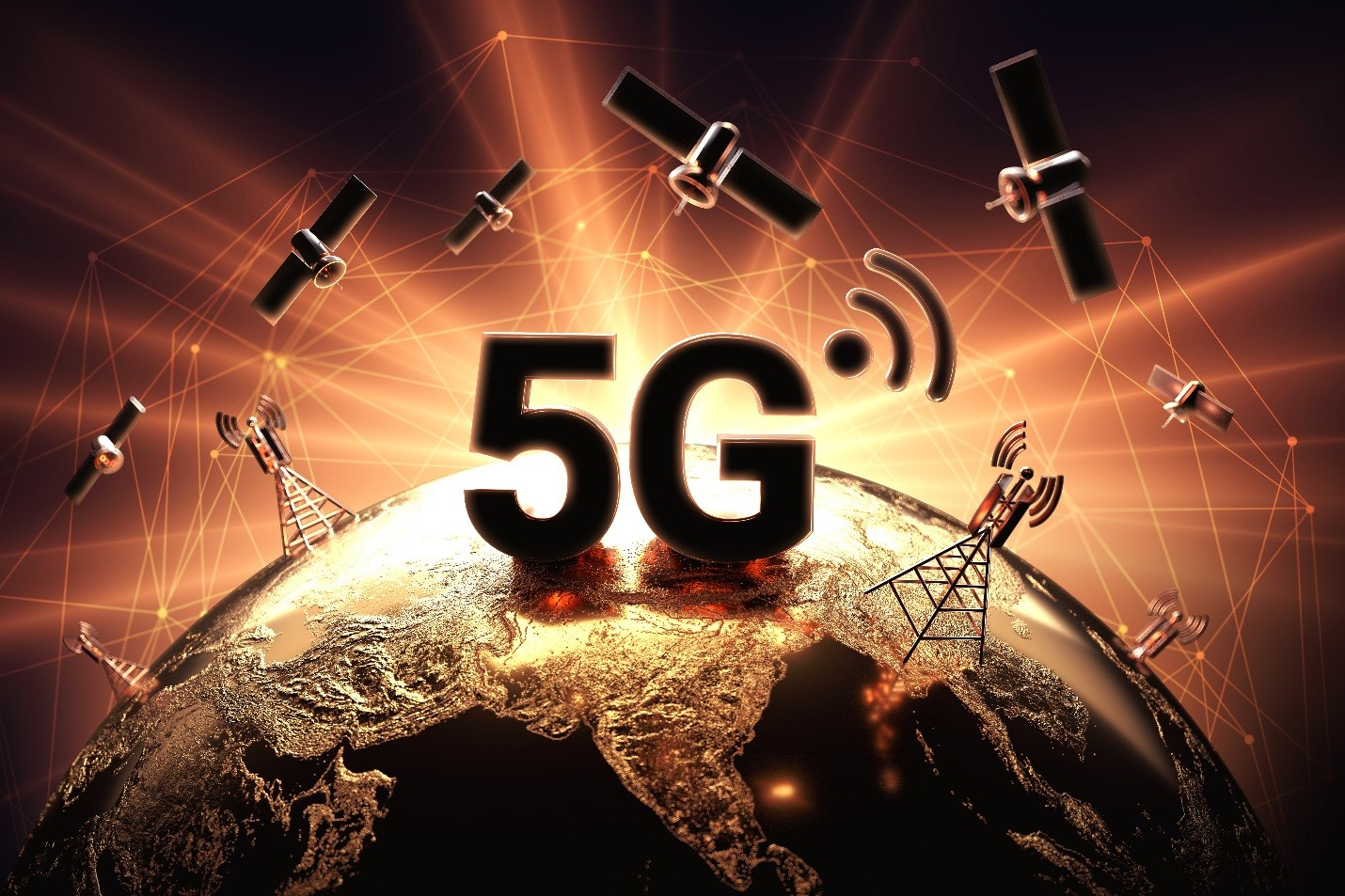 5G uncovers digital world, borderless internet based-satellite