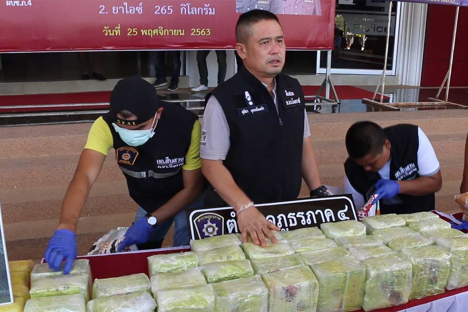 8m meth pills, 'ice' seized in Bung Kan