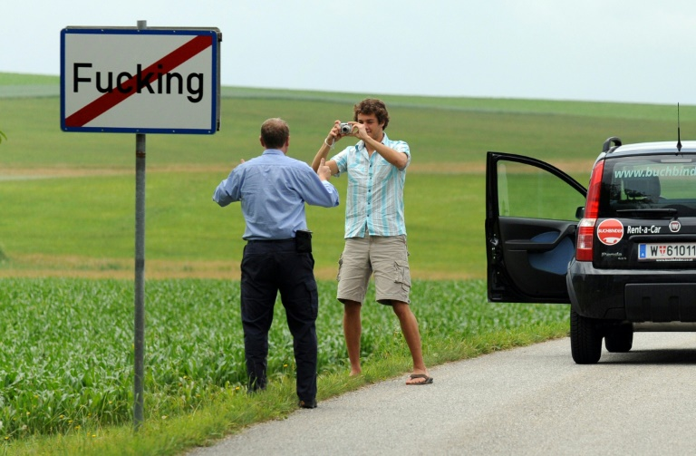 Exhausted of mockery, Austrian village tweaks its name to Fugging