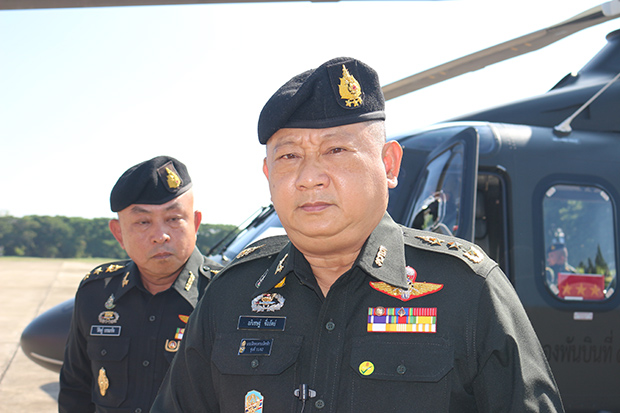 Third Army commander Lt Gen Apichet Suesat, in charge of the northern region. (Photo:  Chinnawat Singha)
