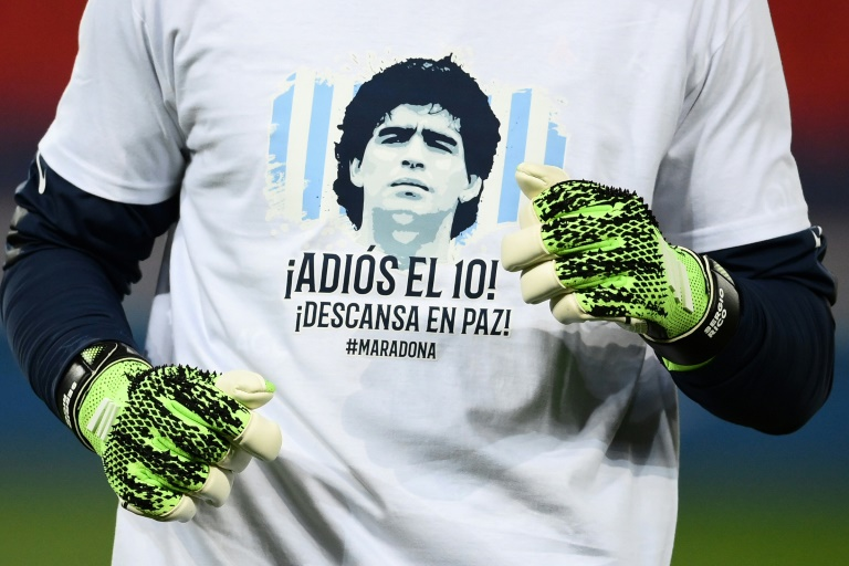 Tributes have poured in for Diego Maradona from across the globe.