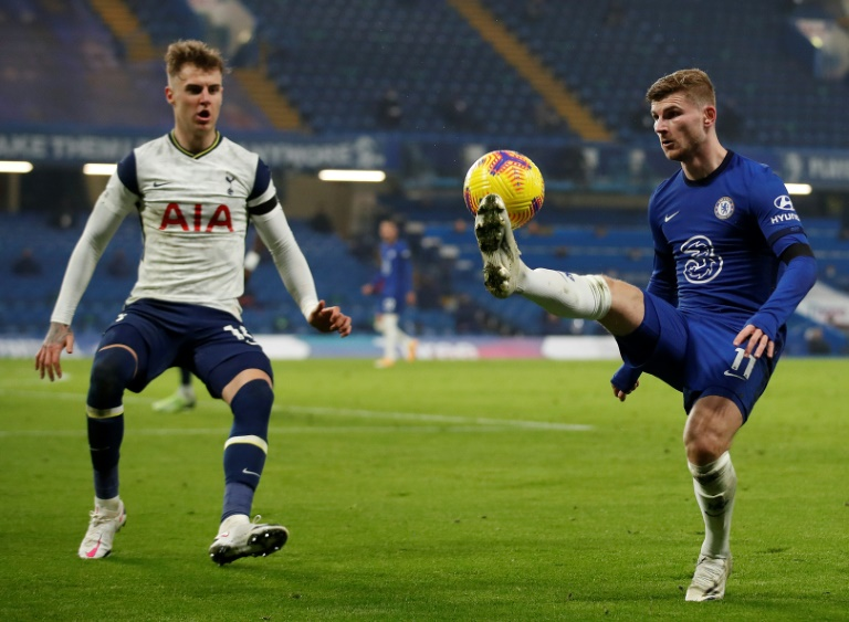 Chelsea and Tottenham played out a dour draw
