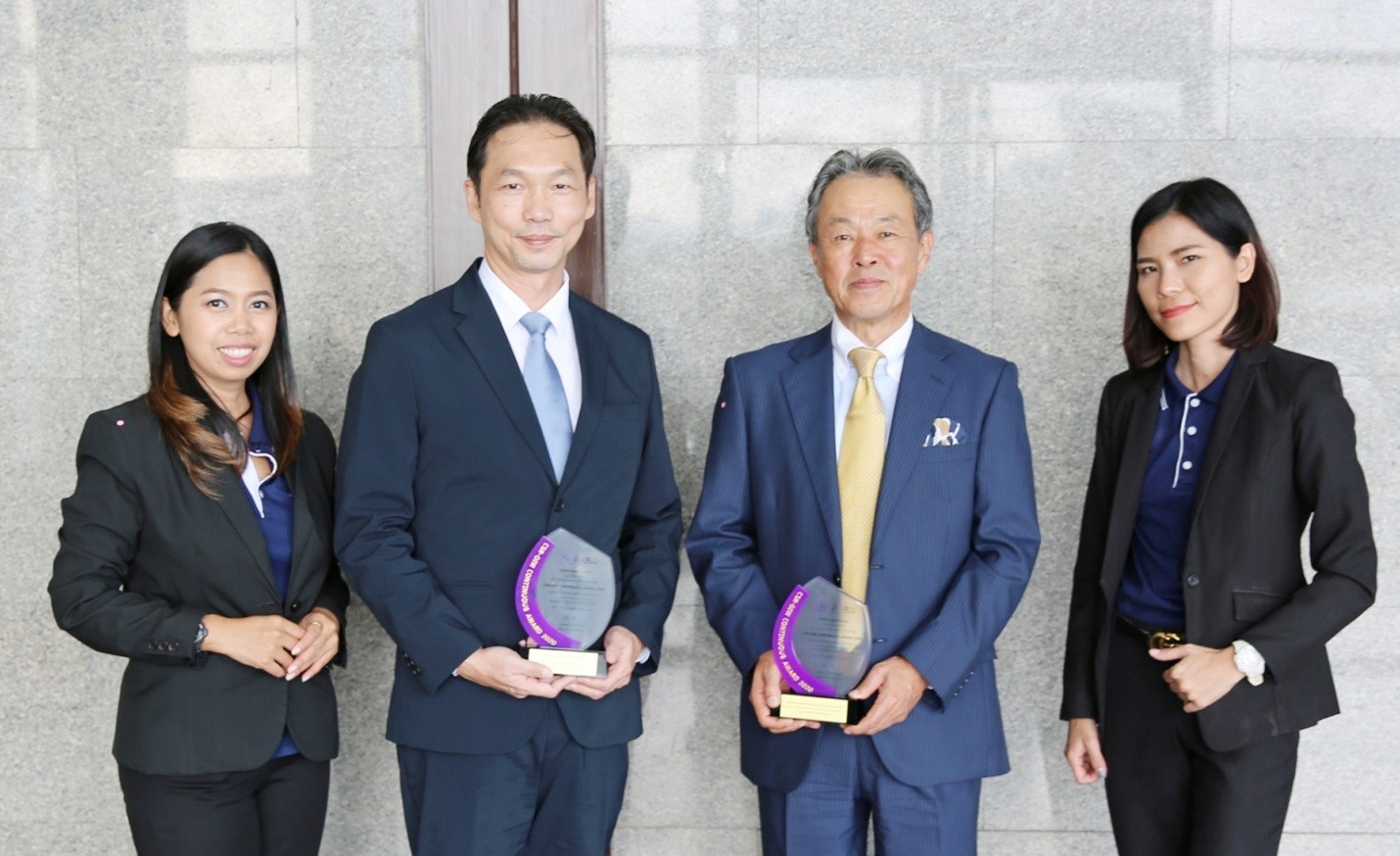 "Thai Central Chemical Public Company Limited is proud to receive ""CSR-DIW Continuous Award 2020"""