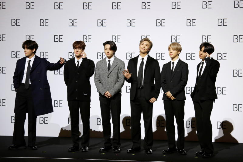 BTS' Dynamite costumes set to light up US music charity auction next month