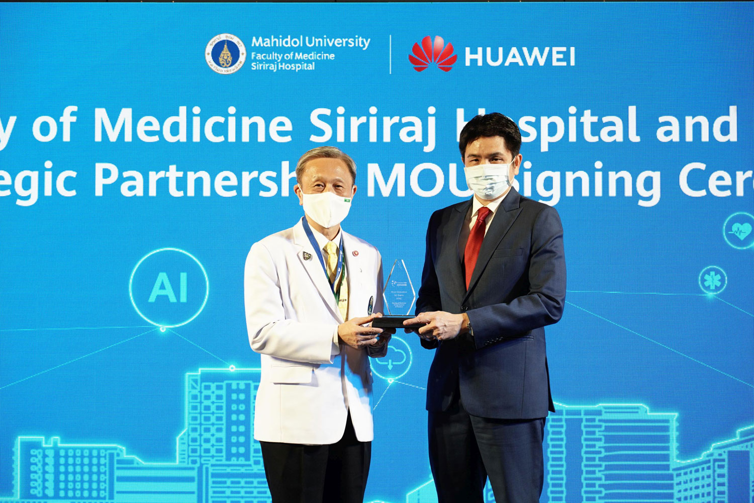 "Faculty of Medicine Siriraj Hospital wins prestigious award for ""Building a Secure, Reliable and Smart 5G Hospital in Thailand"""