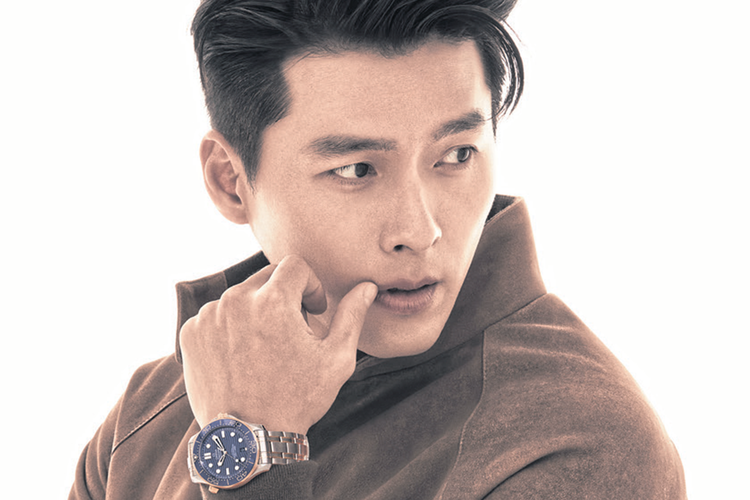 OMEGA proudly welcomes South Korean actor, Hyun-Bin, to its global family of stars