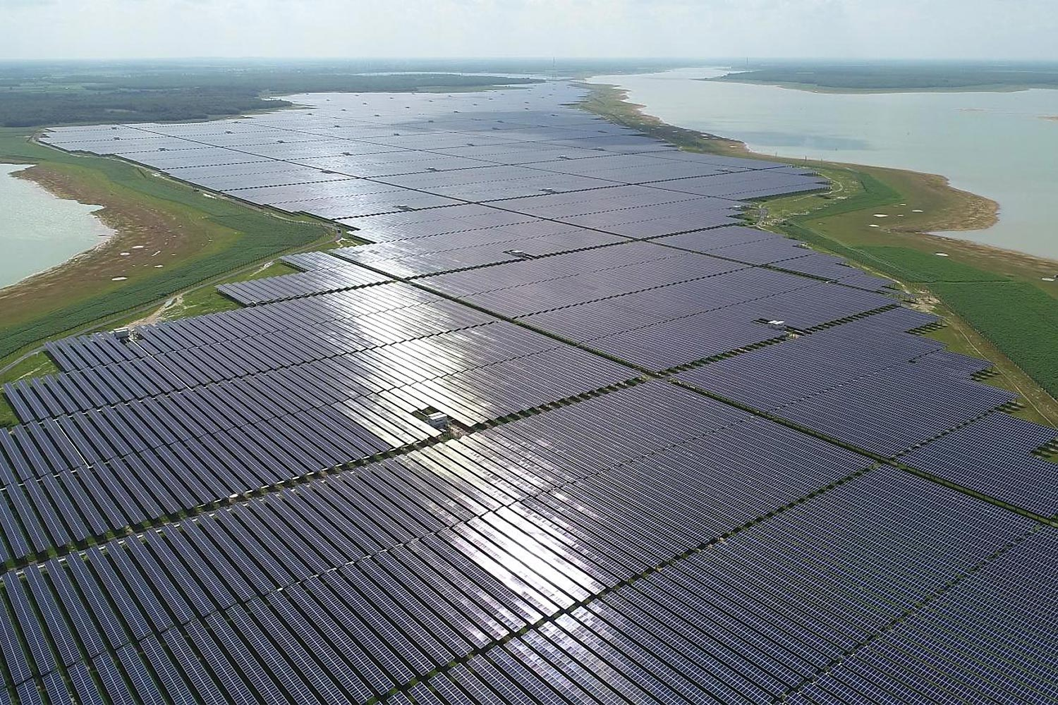 DTE 1 and 2, the largest solar power project in Southeast Asia, located in Tay Ninh, Vietnam.