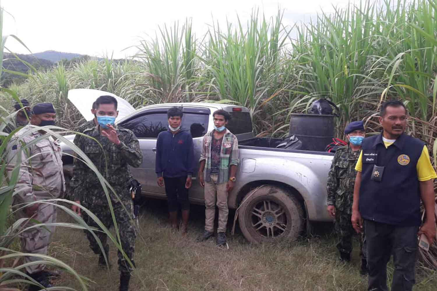 More illegal migrants arrested in Kanchanaburi