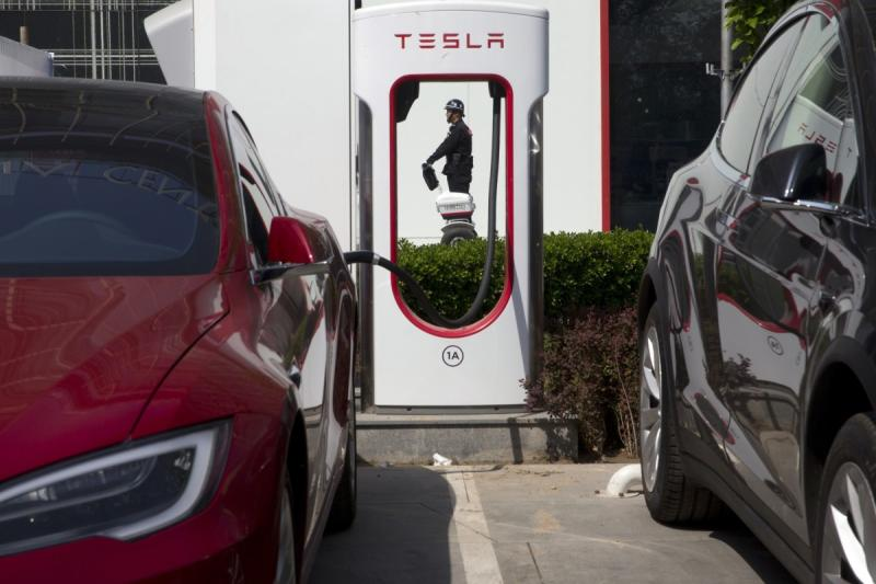 Tesla will launch its first supercharger station in the city of Zhongshan next Monday to attract a growing number of electric vehicle drivers in the Greater Bay Area development zone. (South China Morning Post photo)