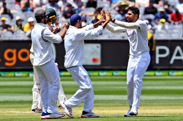 India are in control of the second Test against Australia
