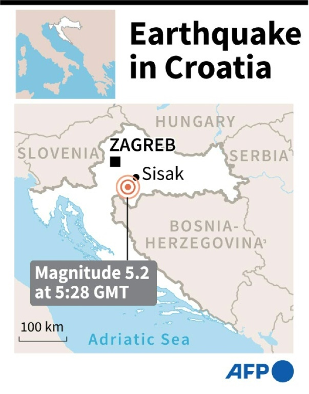 Croatia Rocked By Powerful 6 4 Earthquake