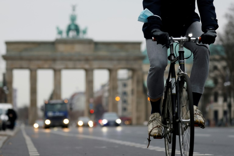 Berlin has seen a sharp rise in the number of cyclists during the coronavirus pandemic, resulting in rising tensions on the road.