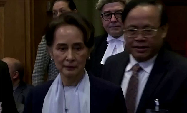 Myanmar leader Aung San Suu Kyi and other senior figures from the ruling party have been detained, the spokesman for the governing National League for Democracy said on Monday. - REUTERS