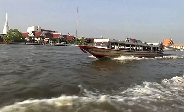 Drone footage: A graveyard of boats, buses, and taxis in Thailand