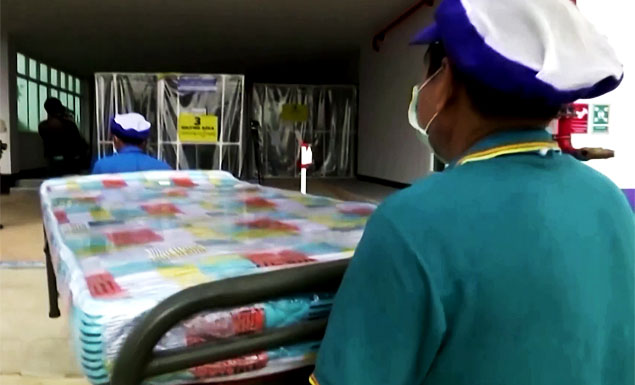 Bangkok plans Covid-19 field-hospital