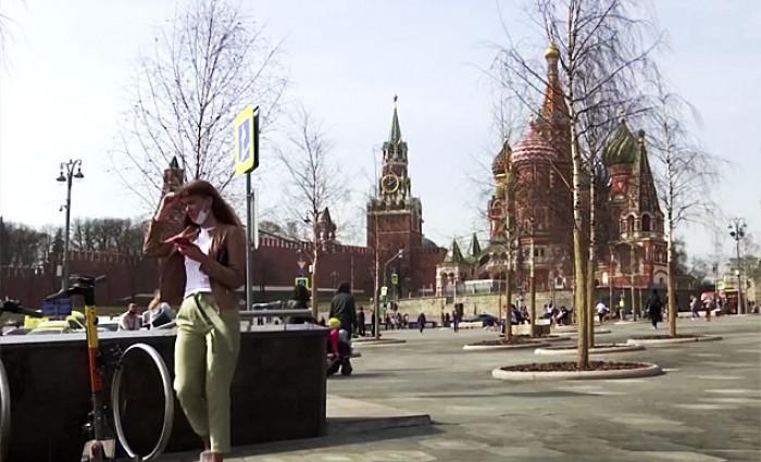 Moscow breaks temperature records mid-April