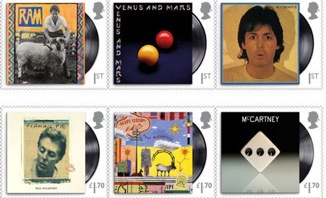 UK snail mail to issue superstar McCartney stamps